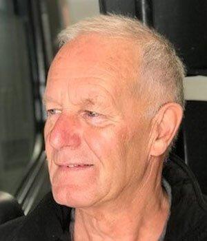 Chauffeur Piet Breddels