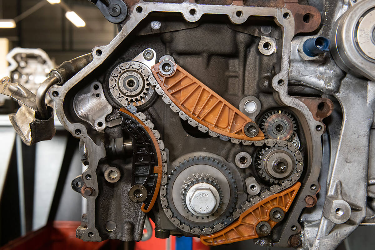 Distributieketting TCe motor renault dacia nissan
