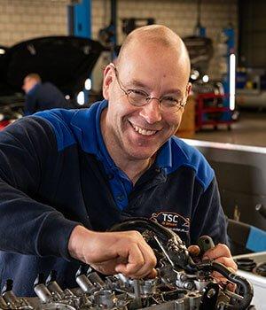 Automonteur René van Dam