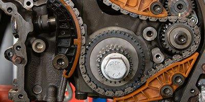Opgerekte distributieketting THP motor Citroen Peugeot Mini en BMW