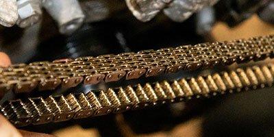 Overgeslagen of gebroken distributieketting THP motor Mini Cooper